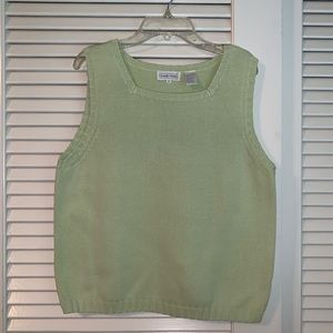 Light peridot green 100% cotton top